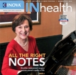 Barbara Donne, a patient who underwent a total shoulder replacement