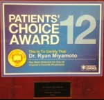Patients' Choice Award 2012